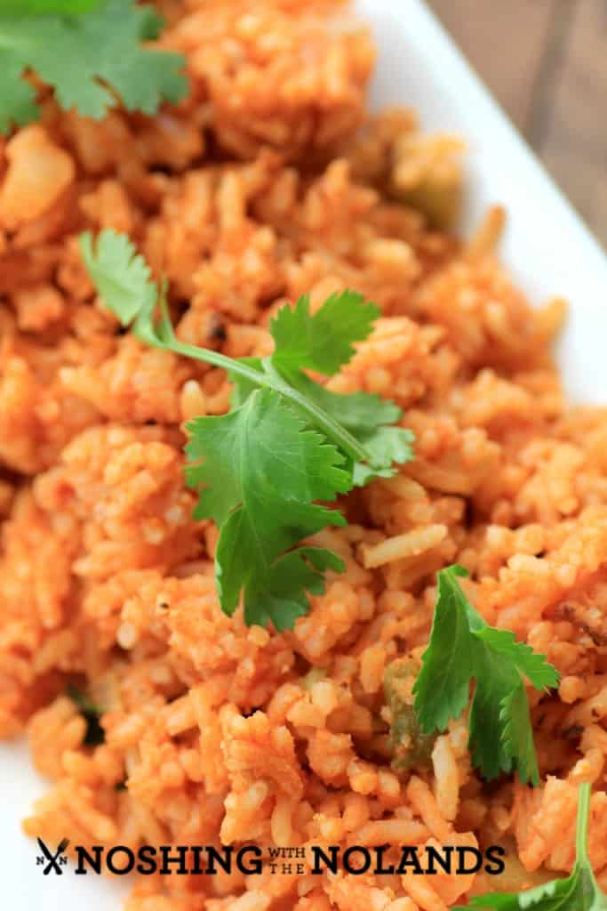 Rice Cooker Mexican Rice by Noshing With The Nolands