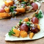 Roasted Squash Grape and Smoked Turkey Flatbread by Noshing With The Nolands3 (Small)