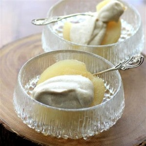 White Wine Poached Pears with Cinnamon Mascarpone by Noshing With The Nolands 480x480