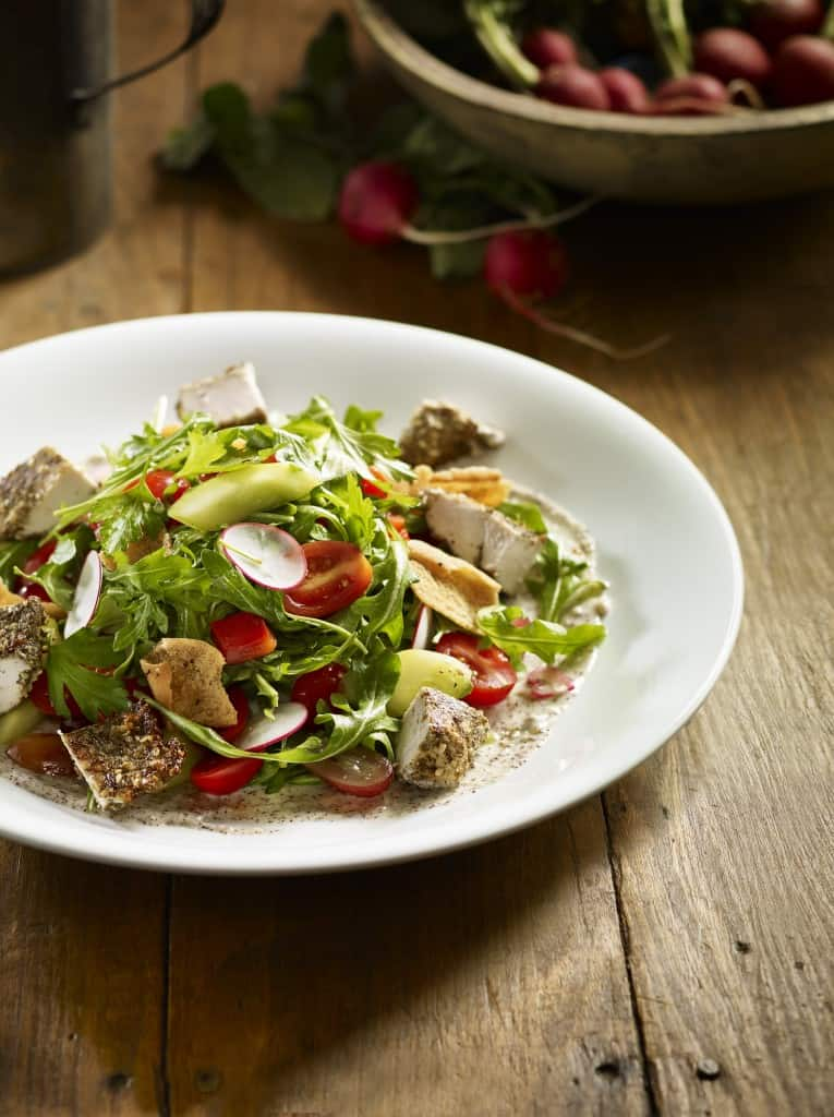 Earls Fattoush with Chicken