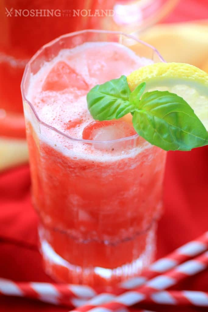 Strawberry Pineapple Lemonade by Noshing With The Nolands