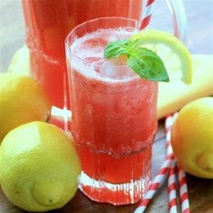 Strawberry Pineapple Lemonade #SundaySupper