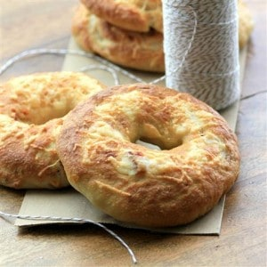 Sundried Tomato Asiago Bagels