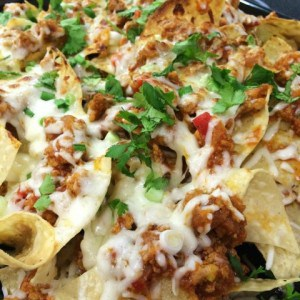 Mouth Watering Mondays – Turkey Chili Nachos