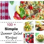 100+ Simple Summer Salad Recipes Square (Small)