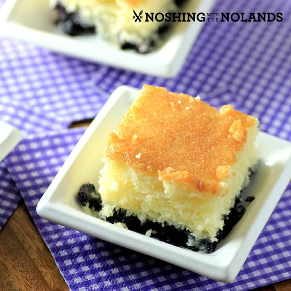 Blueberry Breakfast Cake by Noshing With The Nolands