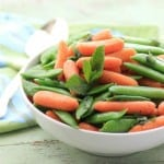 Buttery Mint Carrots and Snap Peas by Noshing With The Nolands2 (Small)