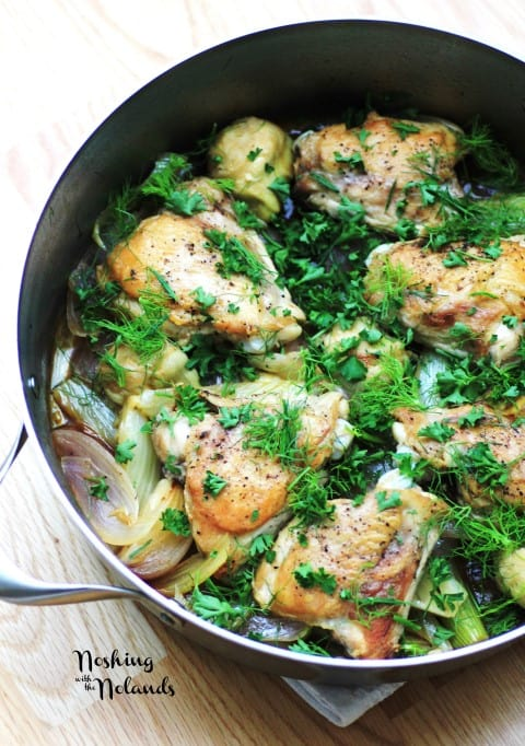 Chicken, Fennel and Artichokes by Noshing With The Nolands