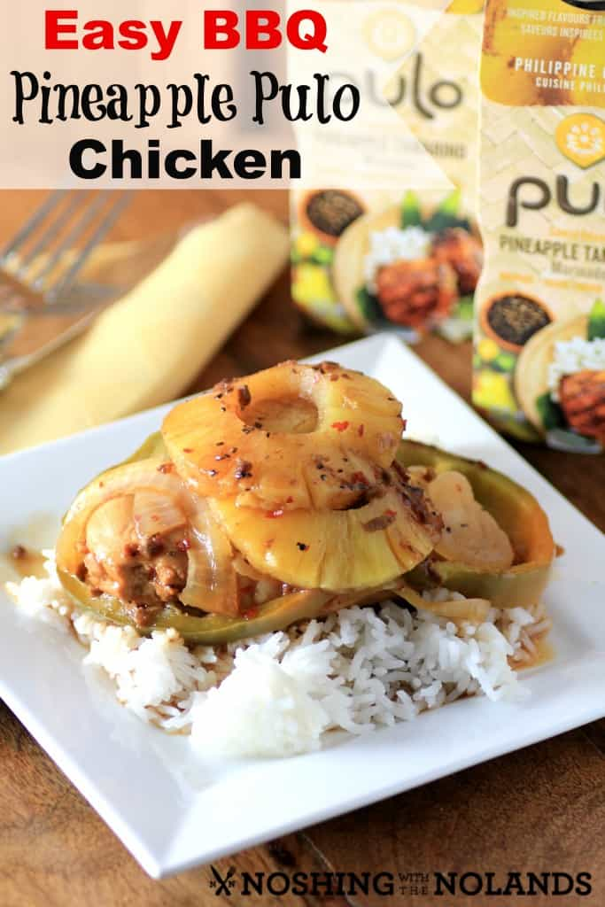 Easy BBQ Pineapple  Pulo Chicken by Noshing With The Nolands
