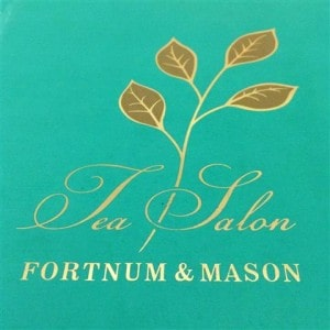 High Tea at Fortnum and Mason