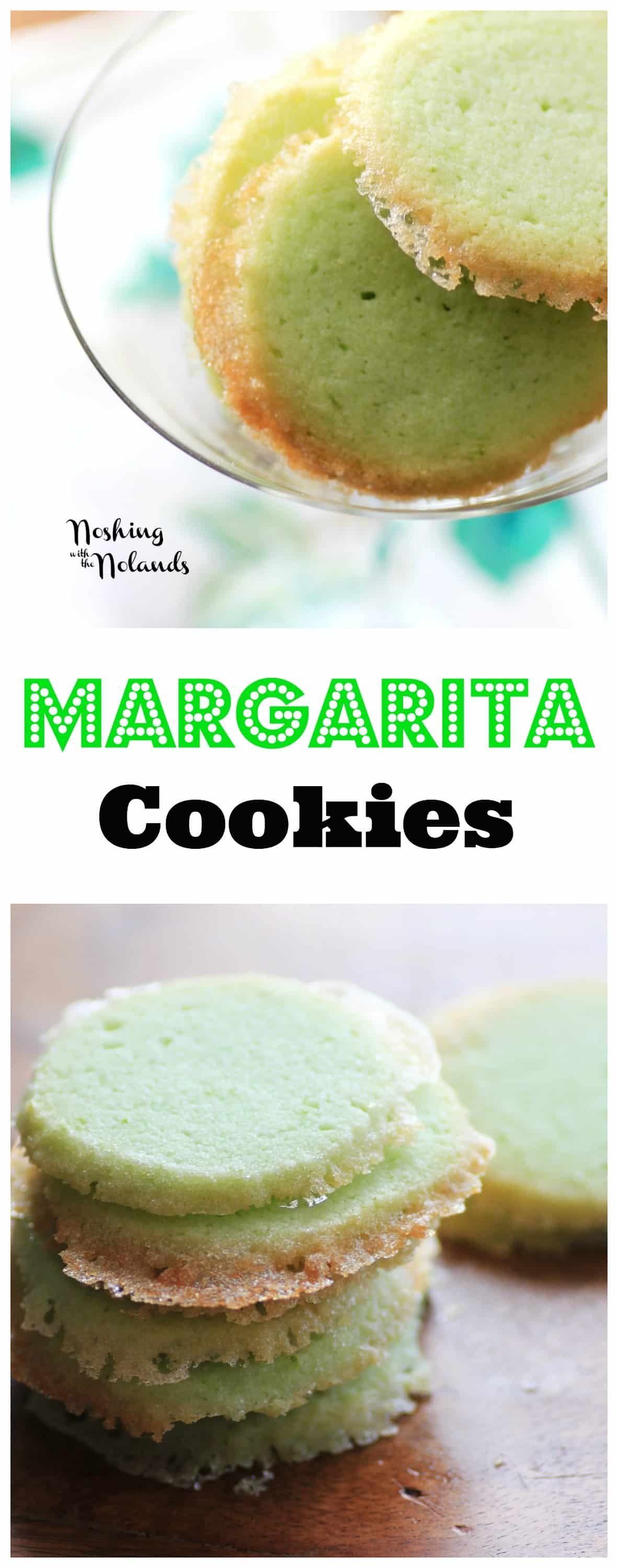 Margarita Cookies for Creative Cookie Exchange