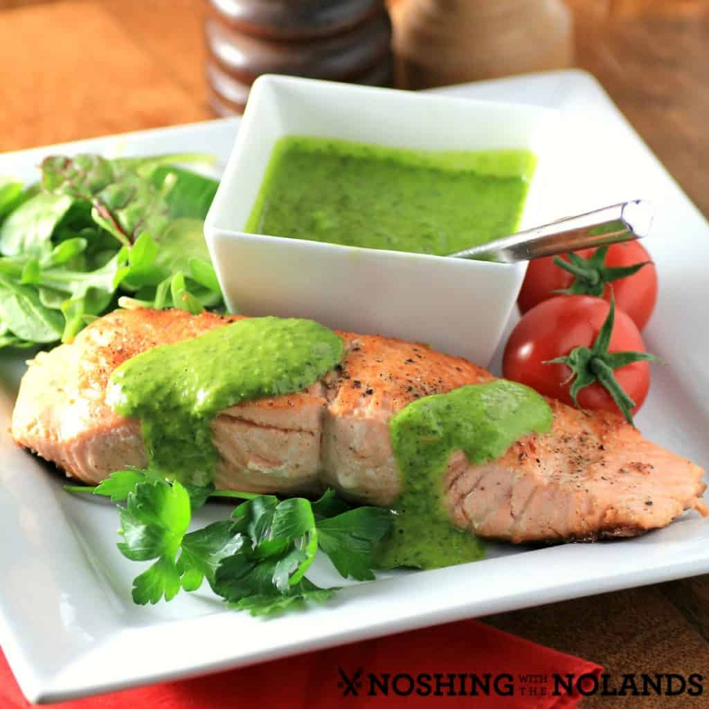 Salmon Chimichurri by Noshing With The Nolands4