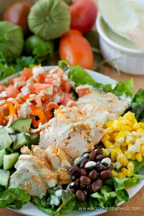 Southwestern Chicken Salad by Eazy Peazy Mealz