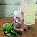 Blueberry Basil Lemonade by Noshing With The  Nolands (Small)