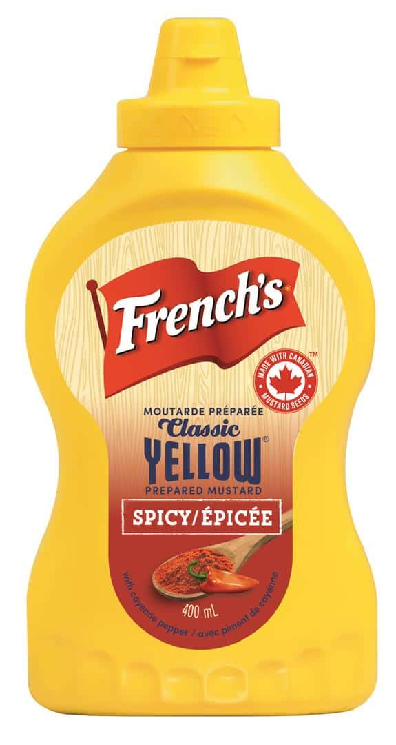 French's Classic Yellow Spicy Mustard (2) (Large)