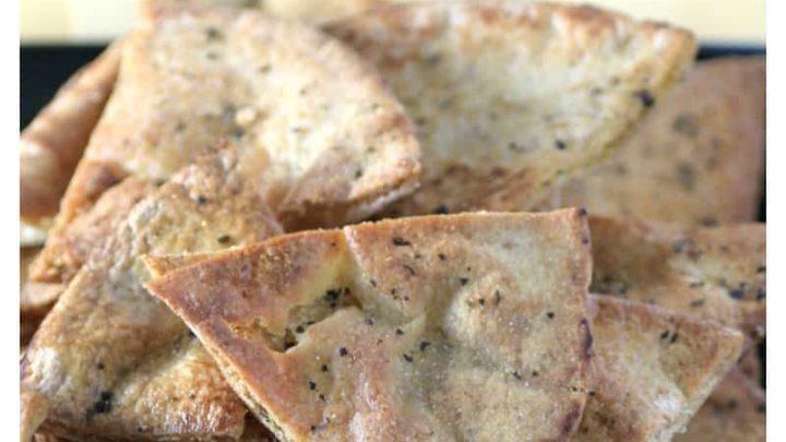Whole Wheat Pita Crisps