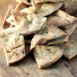 Whole Wheat Pita Crisps by Noshing With The Nolands (Small)