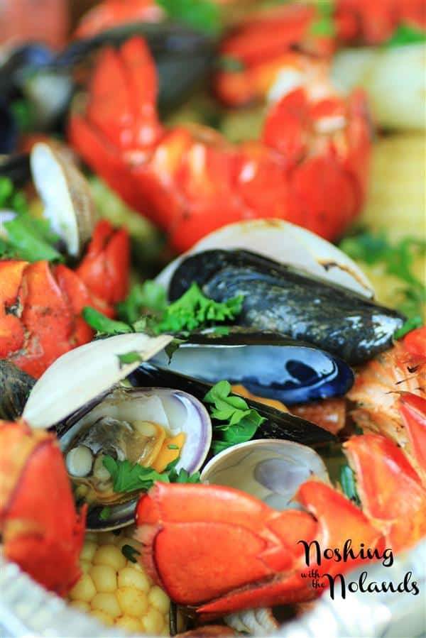 Backyard ClamBake on Your Grill by Noshing With The Nolands (Custom)