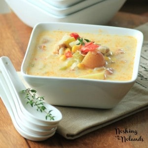 Mouth Watering Mondays – Summer Chicken Corn Chowder
