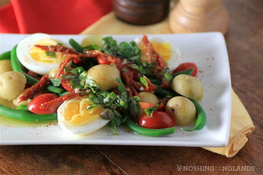 Egg Potato Green Bean Salad by Noshing With The Nolands (2) (Custom)