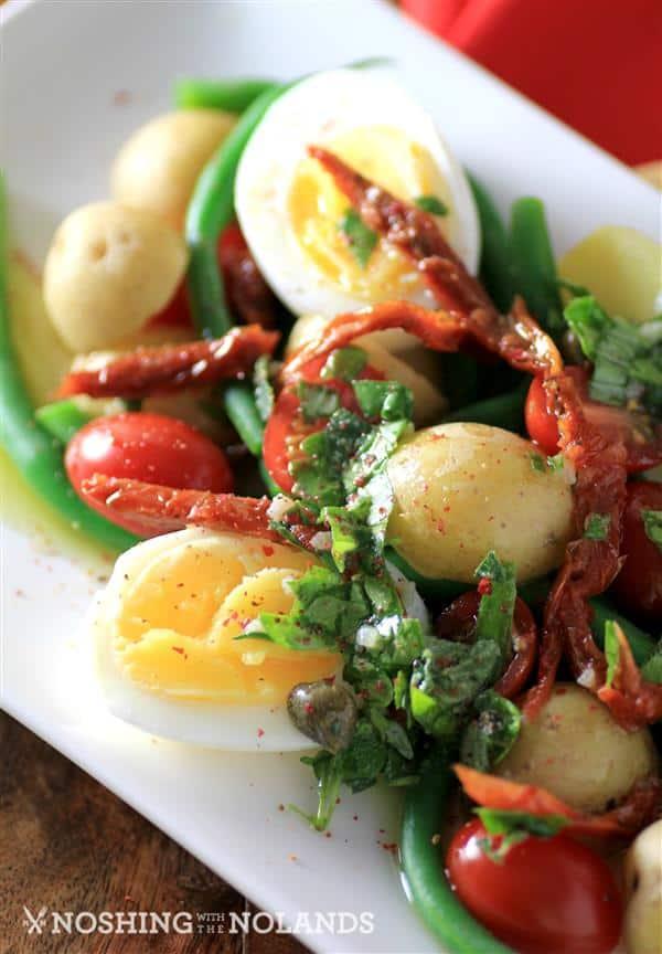Egg Potato Green Bean Salad by Noshing With The Nolands (4) (Custom)
