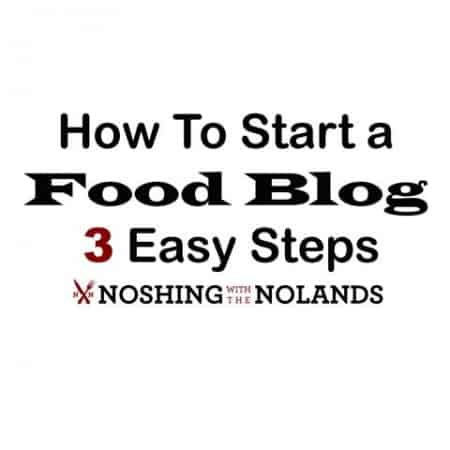 How to Start a Food Blog Banner (Small)