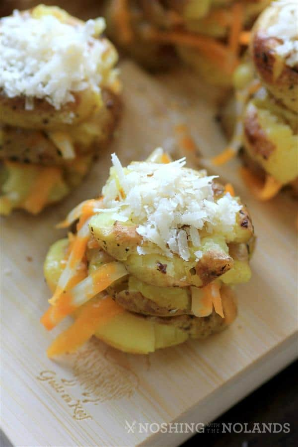 Cheesy Potato Stacks by Noshing With The Nolands