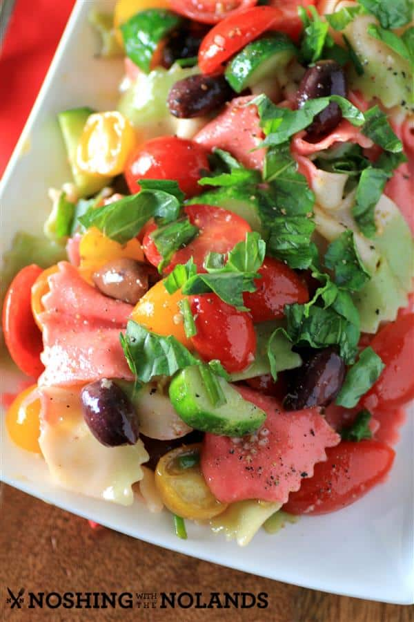 Best Summer Pasta Salad by Noshing With The Nolands