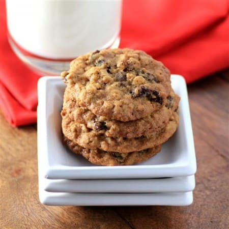 Chewy Oatmeal Raisin Cookies by Noshing With The Nolands 480x480