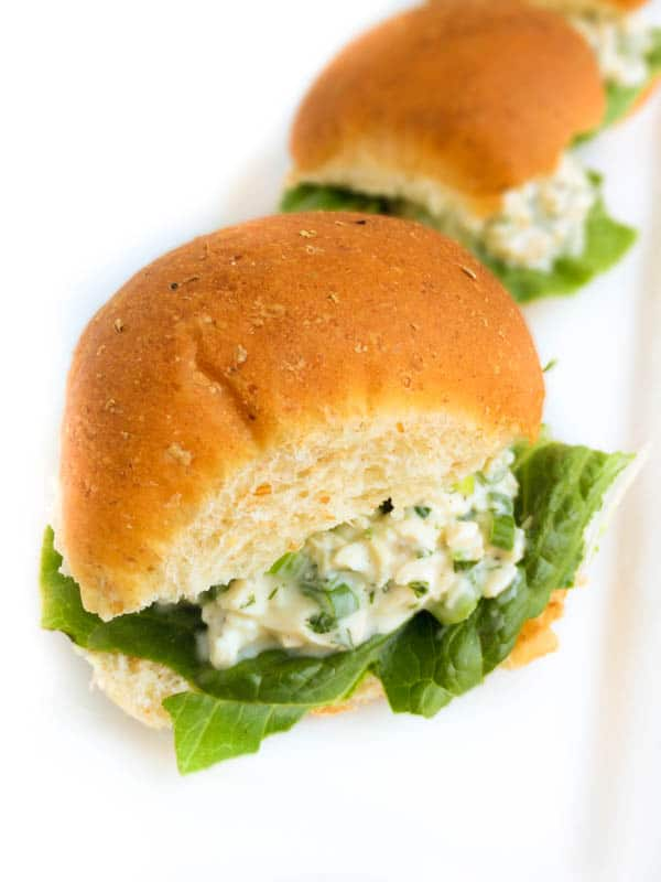 Chicken Salad Sliders from The Lemon Bowl