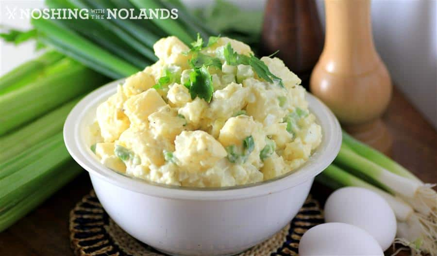 Grandma's Potato Salad by Noshing With The Nolands