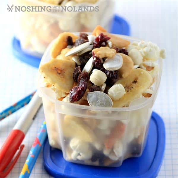 Healthy Lunchbox Snack Mix by Noshing With The Nolands
