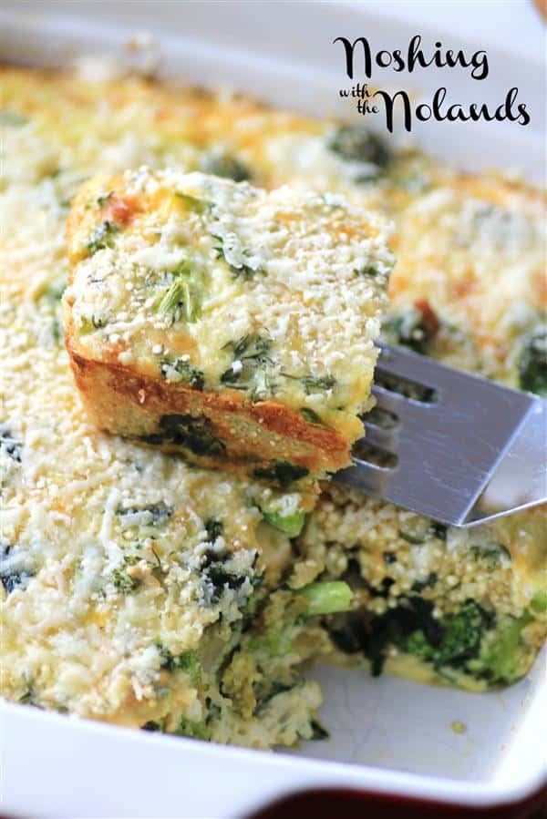 Mouth Watering Mondays Quninoa Quiche by Noshing With The Nolands