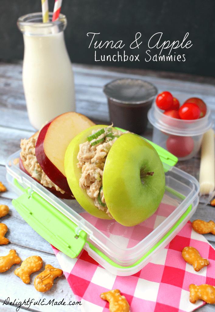 Tuna and Apple Sandwich from Delightful E Made