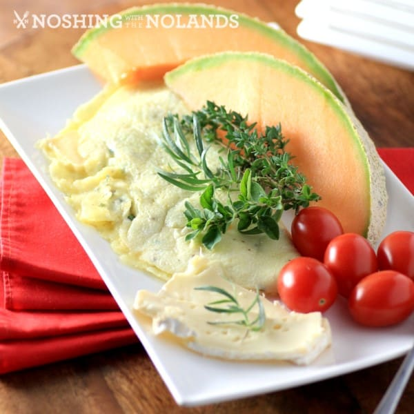 Brie and Herb Omelet by Noshing With The Nolands (Custom)
