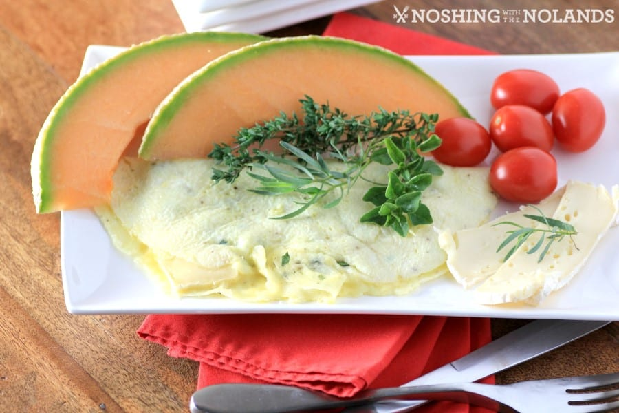 Brie and Herb Omelet by Noshing With The Nolands(4) (Custom)