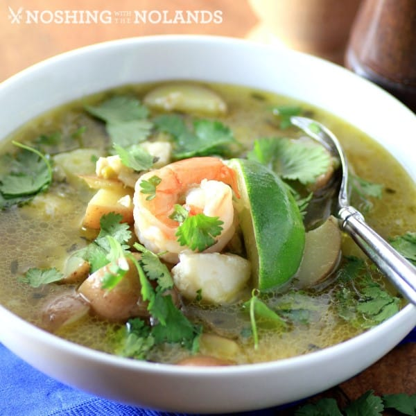 Peruvian Seafood Soup by Noshing With The Nolands (Custom)