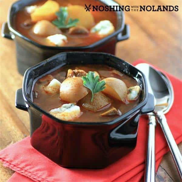 Slow Cooker Goulash Soup by Noshing With The Nolands