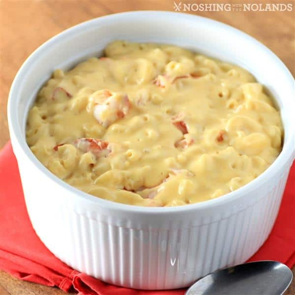 Stovetop Lobster Macaroni and Cheese by Noshing With The Nolands (5) (Custom)