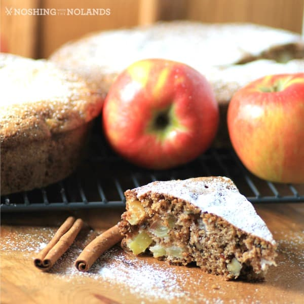 Apple Walnut Spice Cake by Noshing With The Nolands