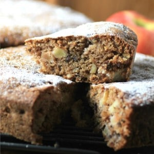 Apple Walnut Spice Cake