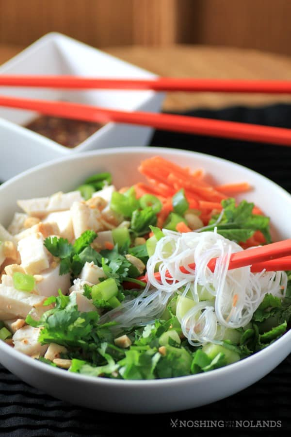 Big Cool Chicken Noodle Bowl by Noshing With The Nolands