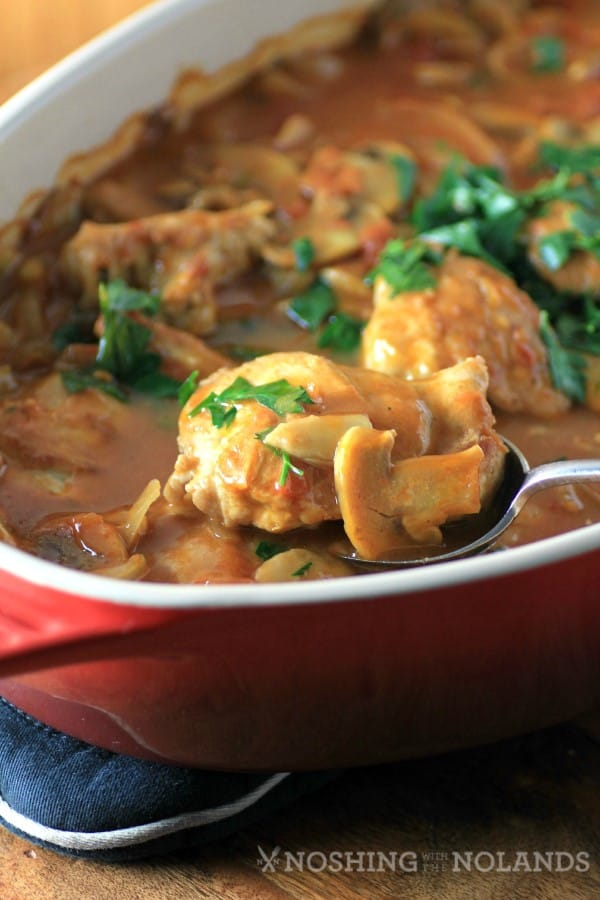 Chicken Marengo by Noshing With The Nolands