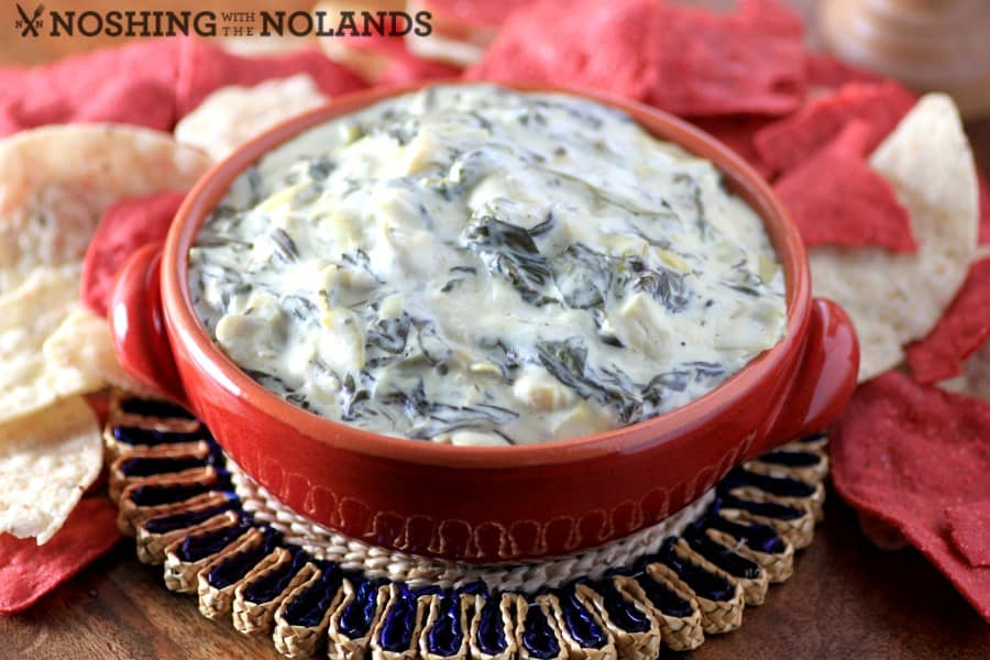 Sumptuous Spinach and Artichoke Dip by Noshing With The Nolands