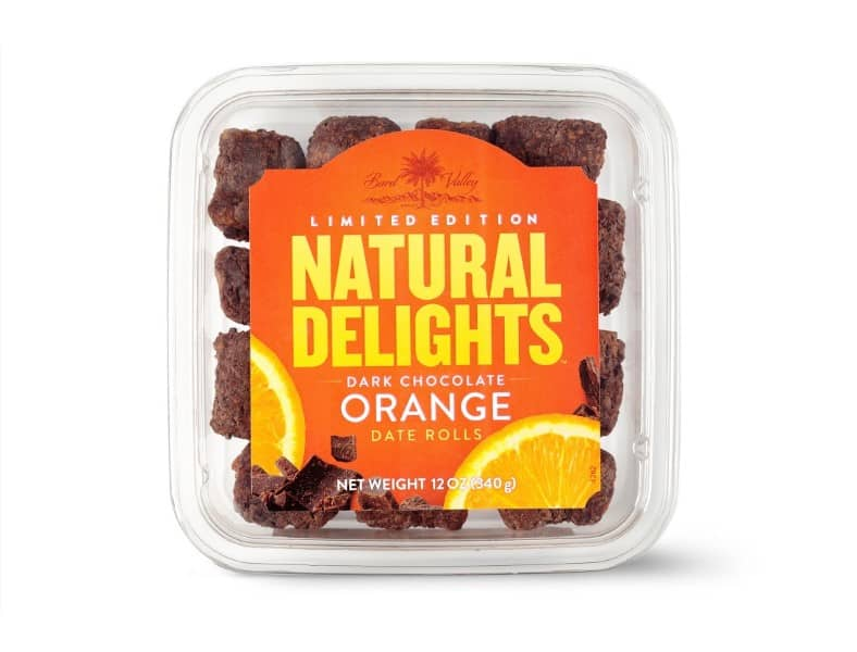 Natural Delights Date Rolls