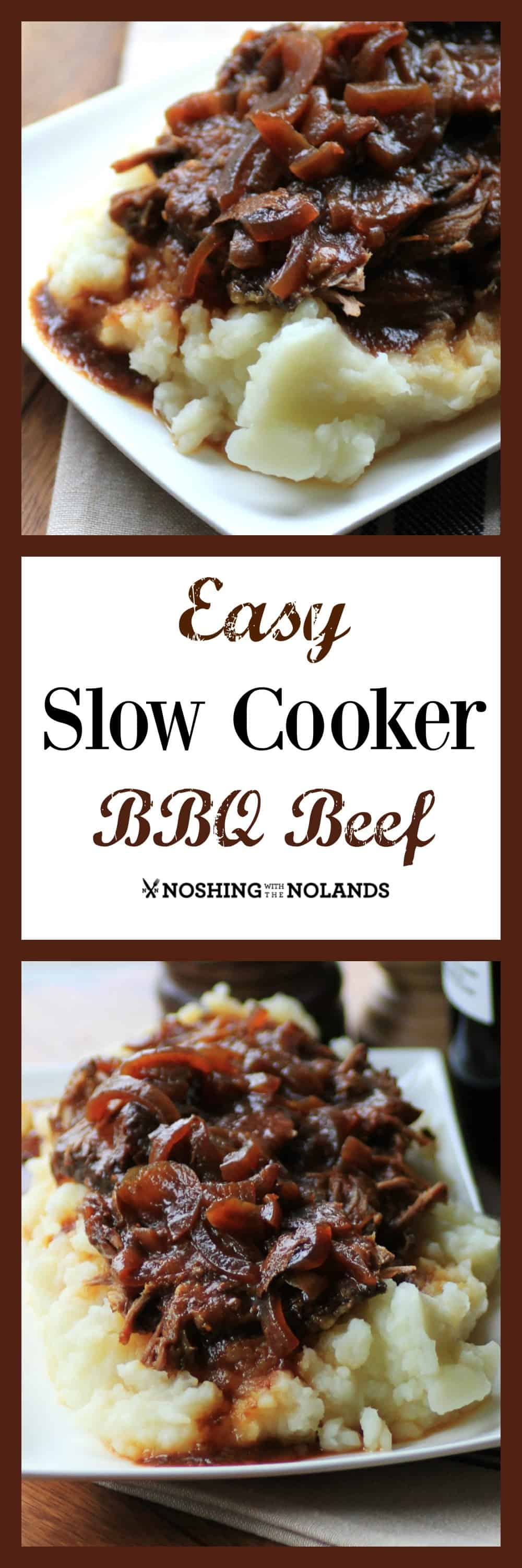 MWM Easy Slow Cooker BBQ Beef