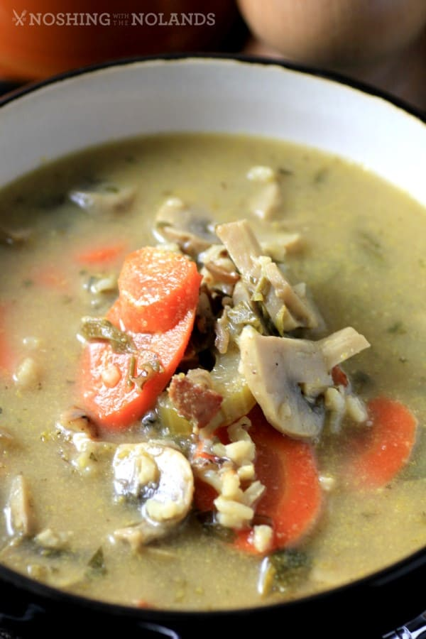 Mushroom Wild Rice Soup by Noshing With The Nolands
