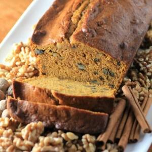 Pumpkin Maple Walnut Loaf