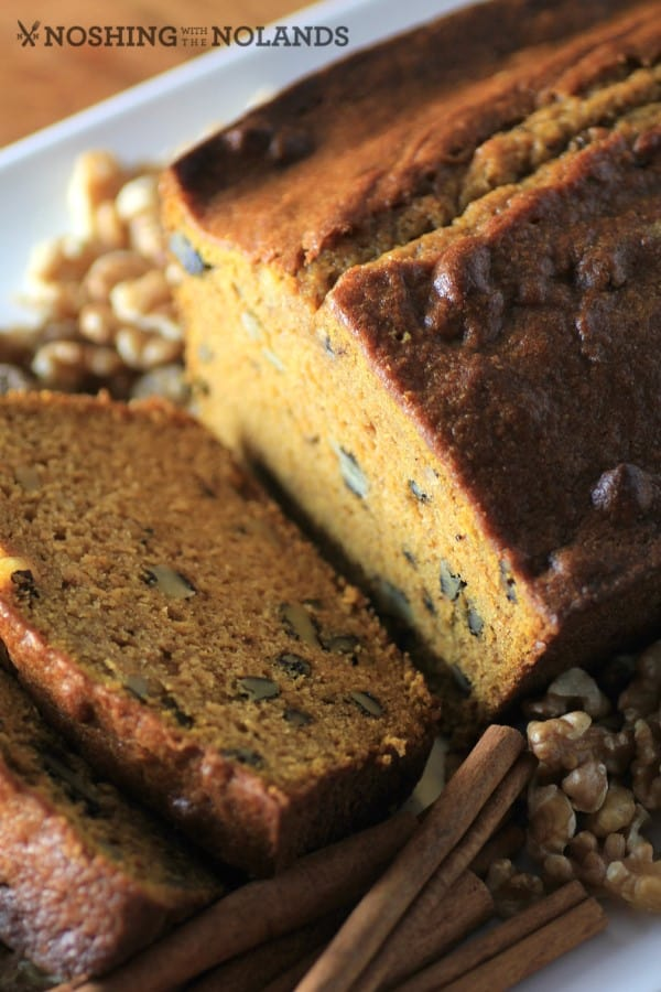Pumpkin Maple Walnut Loaf by Noshing With The Nolands
