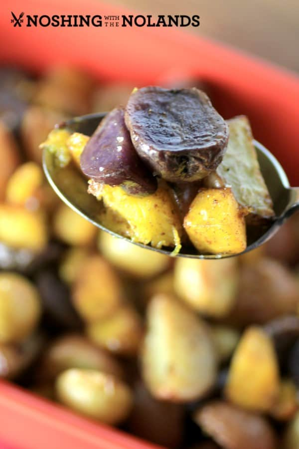 Roasted Cinnamon Little Potatoes and Pumpkin by Noshing With The Nolands  (5) (Custom)